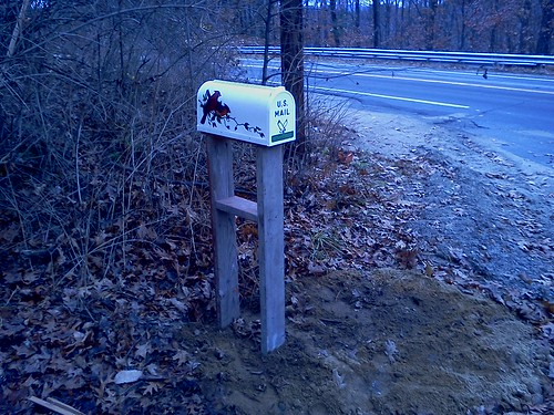 The new Mail box...