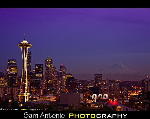 Sleepless and Stuck in Seattle by Sam Antonio Photography