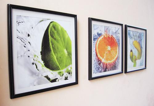 Cuadros personalizados - frutas