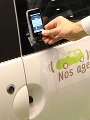 The NFC Car - Oberthur / Continental