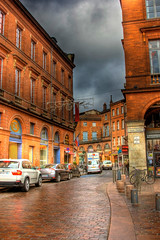 A street in downtown Toulouse