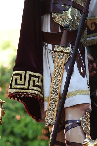 Gladius.Hermandad de la Exaltación de Sevilla, Jueves Santo 2010