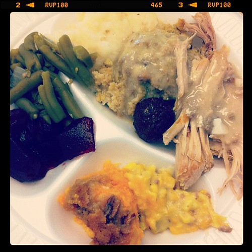 #Potluck @ work #thanksgiving