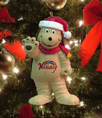 Holidog ornament