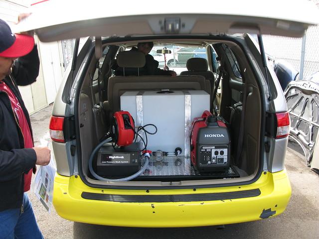 Custom Car Wash Skid Mount Low Pressure Wash System