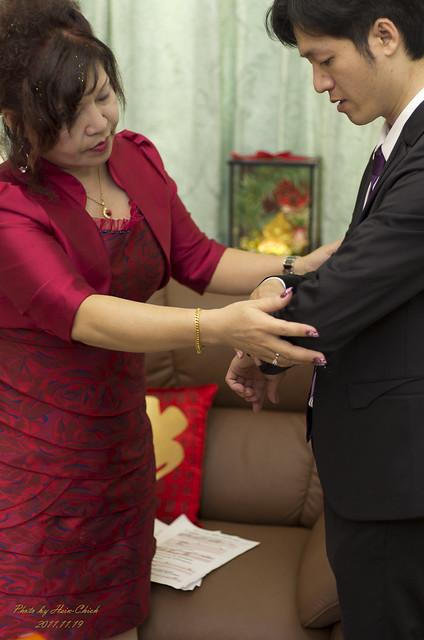 2011年11月19日-同事婚禮側拍