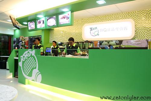 Interior, ZenQ Desserts