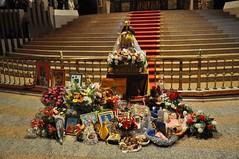 68 - Con la Virgen del Quinche (Ecuador) en Torreciudad