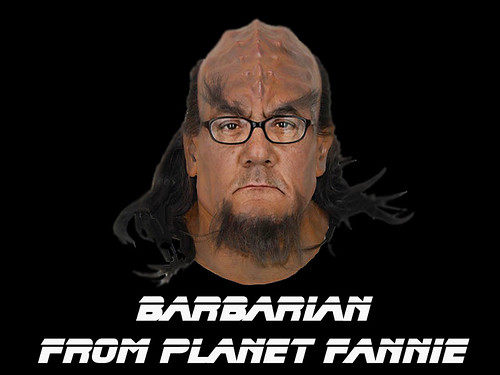 BARBARIAN FROM PLANET FANNIE by Colonel Flick