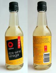 Rijstwijn azijn
