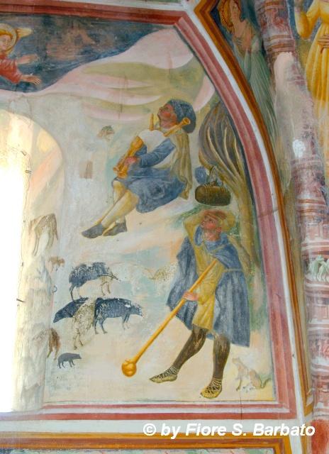 Sant 39 angelo d 39 alife ce 2011 affreschi della cappella for Arredo bimbo sant antonio abate