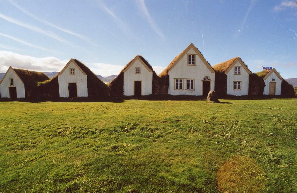 Foto Islandia casas