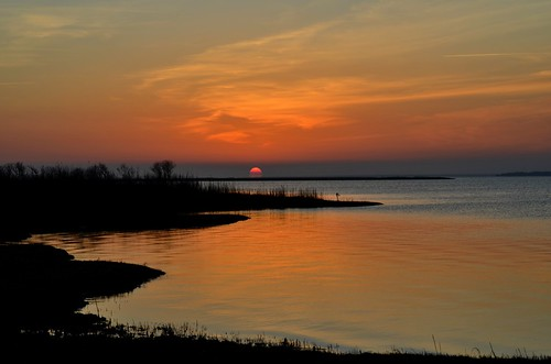sunset sea usa newyork beach water landscape fun scene longisland nikond5100