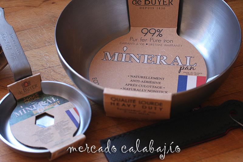 Sartenes de hierro mineral de buyer vuelta a los or genes - Sartenes para tortilla ...