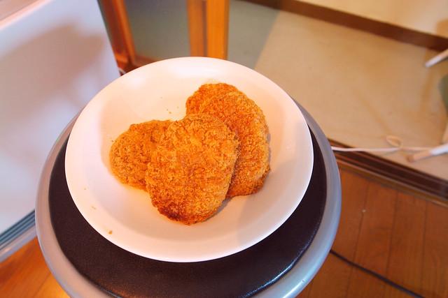 Korokke  (Japanese style croquette) testshot