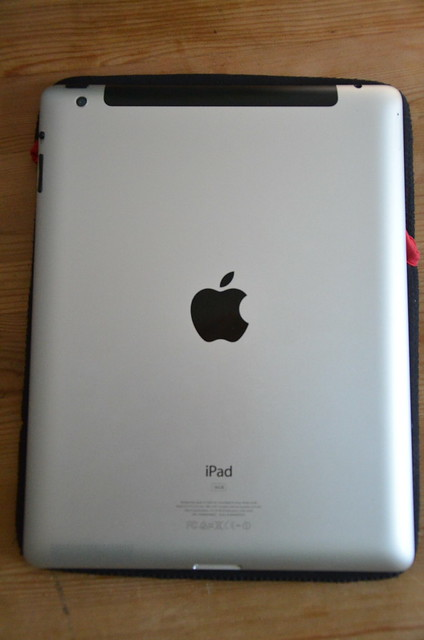 Apples iPad back