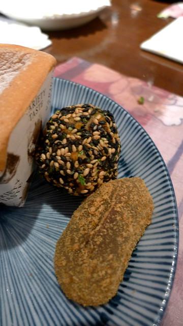 mochi & sesame ball