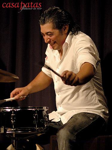La percusión irá a cargo de Bandolero. Foto: Martín Guerrero
