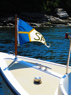 Spruce Point Inn Launch Burgee