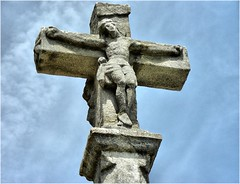 art, ancient history, symbol, sculpture, stone carving, crucifix, cross, statue,
