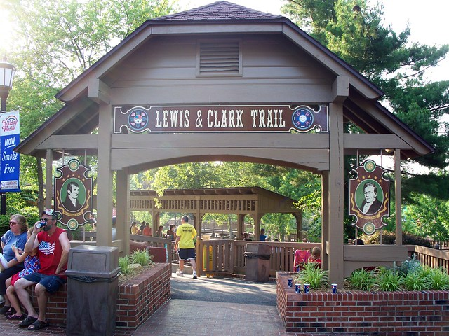 Holiday World - Lewis & Clark Trail Entrance