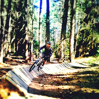 Banking Turn | hitting the berm #7miletrail #queenstown #cycling