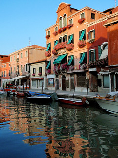 Luz de atardecer en Murano - Sunset light at Murano