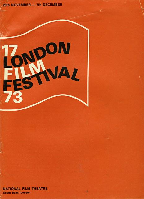 1973 London Film Festival Poster