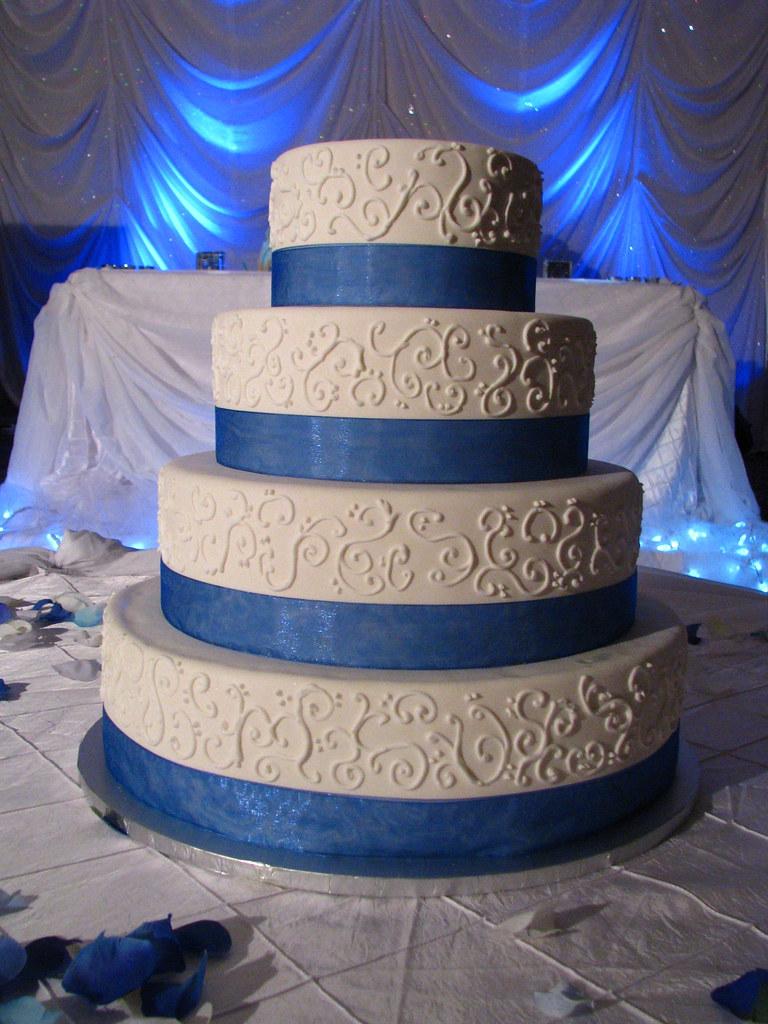 Classic Design Wedding Cake Vanilla Buttercream Cake With Flickr