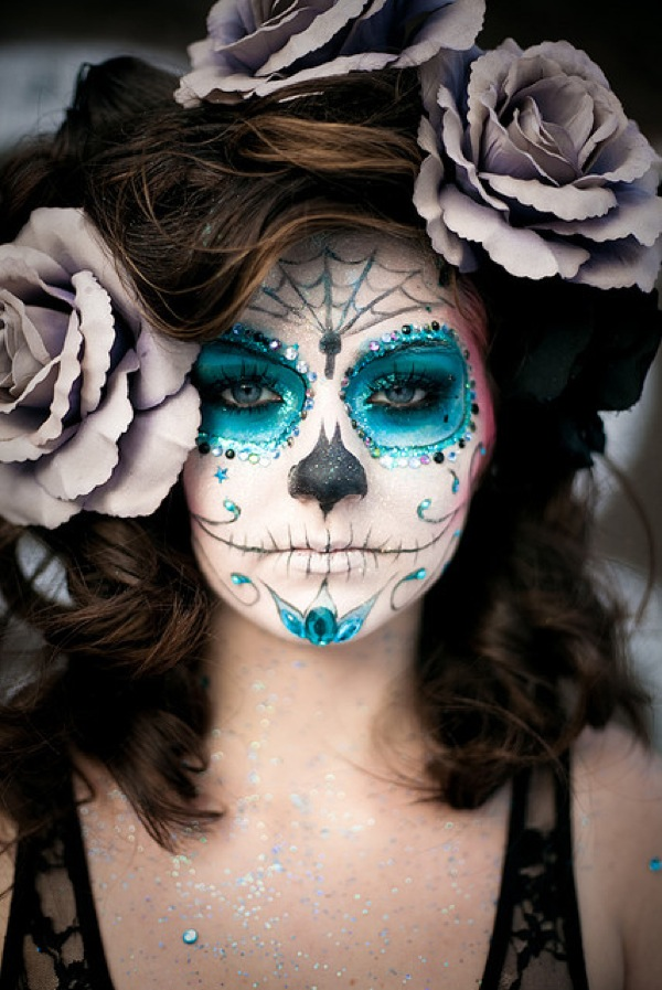 diy la catrina day of the dead halloween costume trashion helsinki. Black Bedroom Furniture Sets. Home Design Ideas