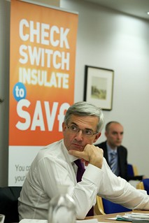 Chris Huhne, Energy Secretary | by DECCgovuk
