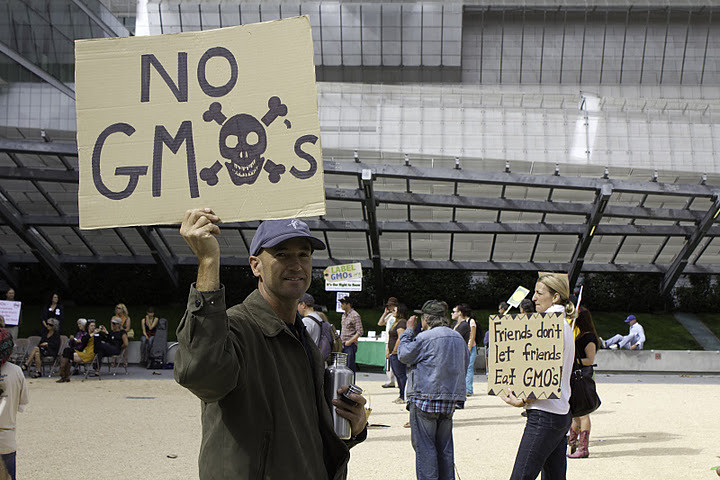 Right2Know GMO SF Rally