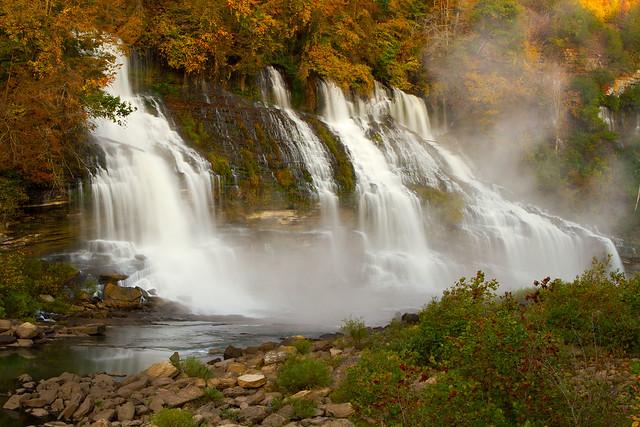 Twin Falls in Autumn