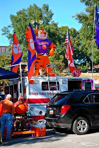 Clemson Girl Best Clemson Tailgating Photos Tailgates