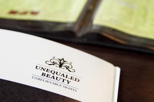 UNEQUALED BEAUTY