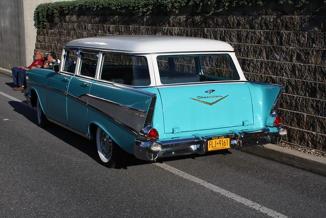 1957 chevrolet belair townsman 4 door wagon flickr for 1957 chevy wagon 4 door