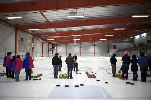 The curling rink