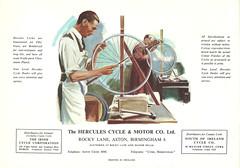 """Hercules 1949 """"Wonder Wheels"""" Catalogue. Page 32"""