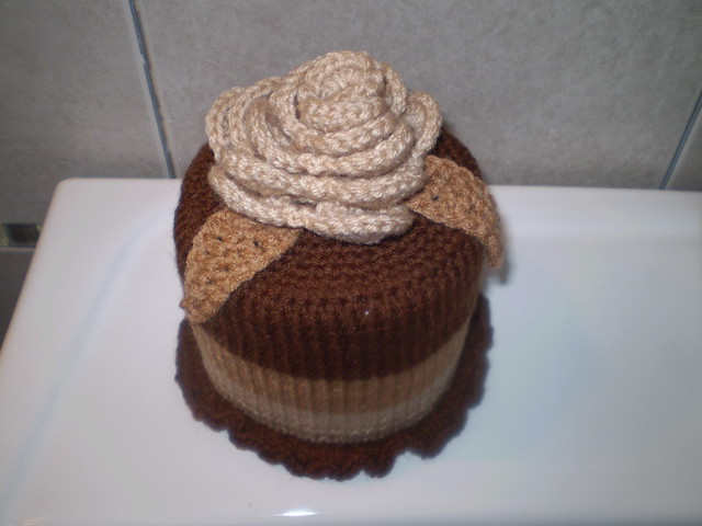 toilet paper cover crochet pattern | eBay