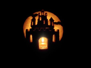 Castle pumpkin!