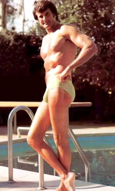 Lyle Waggoner posed for Playgirl,...