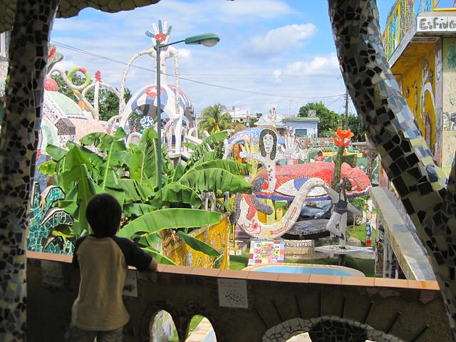 overlooking - cuban artist - home - tour - cuba