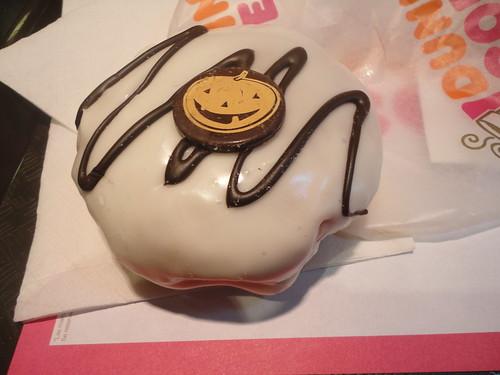 Halloween en Dunkin' Donuts