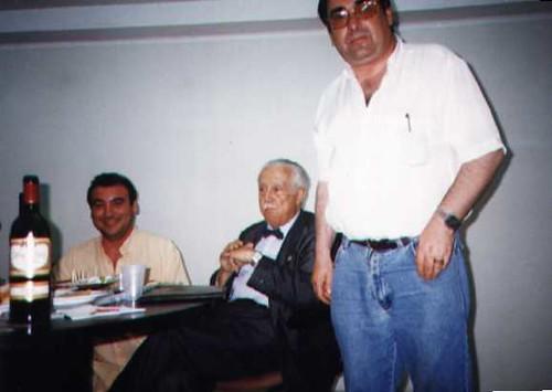 Con don Antonio Beltrán
