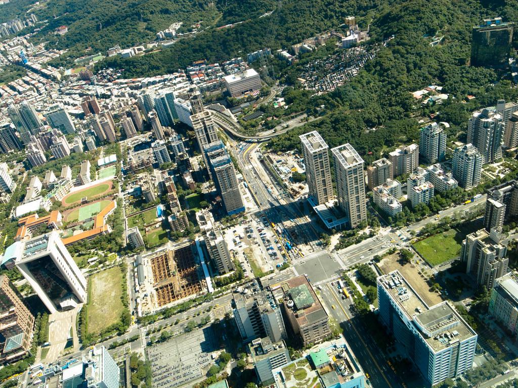 from Taipei 101 85F