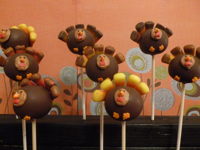 Images Of Turkey Cake Pops : Thanksgiving Turkey Cake Pops Flickr - Photo Sharing!
