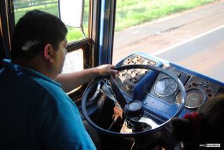 Bus a ruinas jesuitas en Paraguay