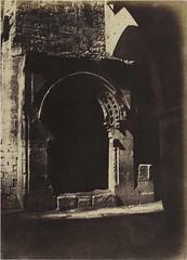 Jérusalem, Fontaine arabe, 1854, by Auguste Salzmann
