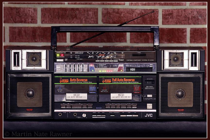 JVC PC-W330JW / JVC Boombox