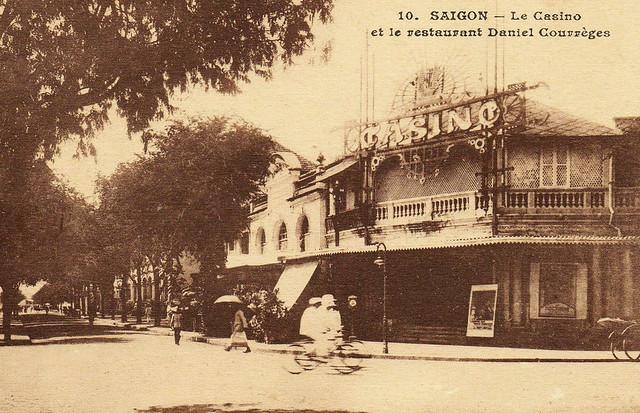 Saïgon. Le Casino et le restaurant Daniel Courrèges